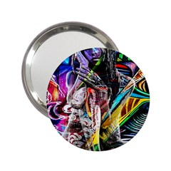 Graffiti girl 2.25  Handbag Mirrors by Valentinaart