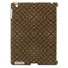Wooden Ornamented Pattern Apple Ipad 3/4 Hardshell Case (compatible With Smart Cover) by dflcprints