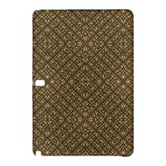 Wooden Ornamented Pattern Samsung Galaxy Tab Pro 10 1 Hardshell Case by dflcprints