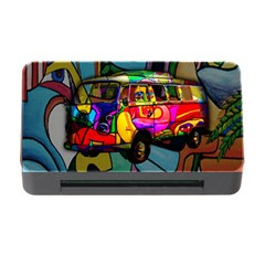 Hippie Van  Memory Card Reader With Cf by Valentinaart