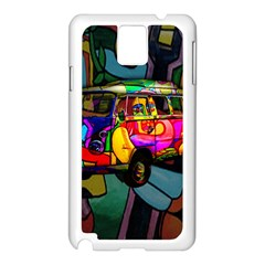 Hippie Van  Samsung Galaxy Note 3 N9005 Case (white) by Valentinaart