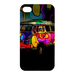 Hippie Van  Apple Iphone 4/4s Premium Hardshell Case by Valentinaart