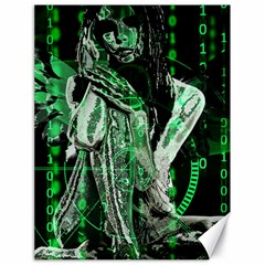 Cyber angel Canvas 18  x 24   by Valentinaart