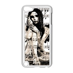 Vintage Angel Apple Ipod Touch 5 Case (white) by Valentinaart