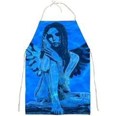 Underwater Angel Full Print Aprons by Valentinaart