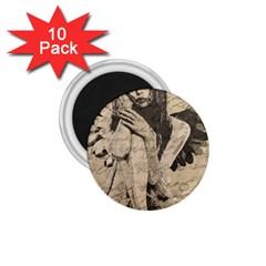 Vintage Angel 1 75  Magnets (10 Pack)  by Valentinaart
