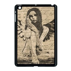Vintage Angel Apple Ipad Mini Case (black) by Valentinaart