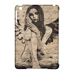 Vintage Angel Apple Ipad Mini Hardshell Case (compatible With Smart Cover) by Valentinaart