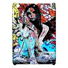 Graffiti Angel Apple Ipad Mini Hardshell Case by Valentinaart