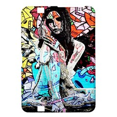 Graffiti Angel Kindle Fire Hd 8 9  by Valentinaart
