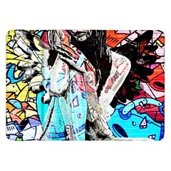 Graffiti Angel Samsung Galaxy Tab 8 9  P7300 Flip Case by Valentinaart