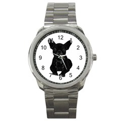 Bulldog Sport Metal Watch by Valentinaart