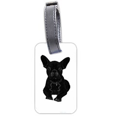 Bulldog Luggage Tags (one Side)  by Valentinaart