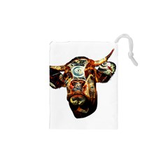 Artistic Cow Drawstring Pouches (xs)  by Valentinaart
