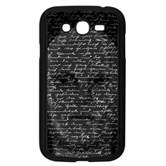 Silent Samsung Galaxy Grand DUOS I9082 Case (Black)