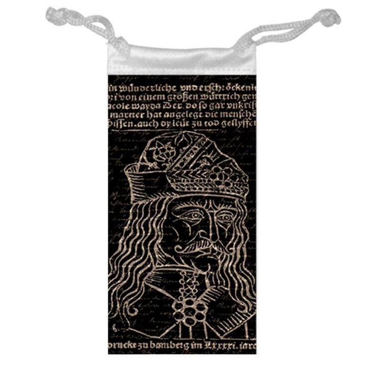 Count Vlad Dracula Jewelry Bag