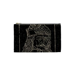 Count Vlad Dracula Cosmetic Bag (small)  by Valentinaart