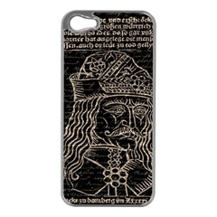 Count Vlad Dracula Apple Iphone 5 Case (silver) by Valentinaart