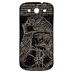 Count Vlad Dracula Samsung Galaxy S3 S Iii Classic Hardshell Back Case by Valentinaart