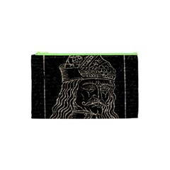 Count Vlad Dracula Cosmetic Bag (xs) by Valentinaart