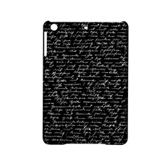 Handwriting  Ipad Mini 2 Hardshell Cases by Valentinaart