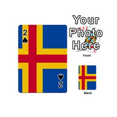 Flag Of Aland Playing Cards 54 (mini)  by abbeyz71
