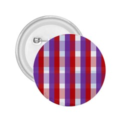 Gingham Pattern Checkered Violet 2 25  Buttons by Simbadda