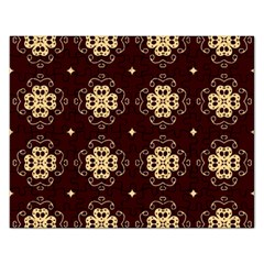 Seamless Ornament Symmetry Lines Rectangular Jigsaw Puzzl by Simbadda