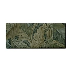 Vintage Background Green Leaves Cosmetic Storage Cases by Simbadda