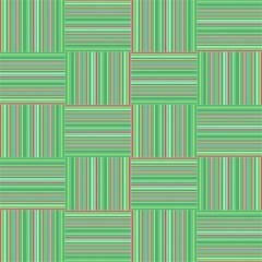 Geometric Pinstripes Shapes Hues Magic Photo Cubes by Simbadda