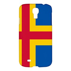 Flag Of Aland Samsung Galaxy S4 I9500/i9505 Hardshell Case by abbeyz71
