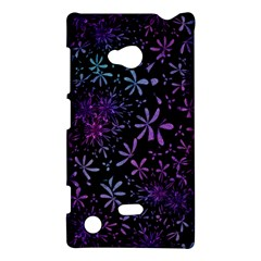 Retro Flower Pattern Design Batik Nokia Lumia 720 by Simbadda