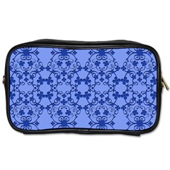 Floral Ornament Baby Boy Design Retro Pattern Toiletries Bags 2 Side by Simbadda