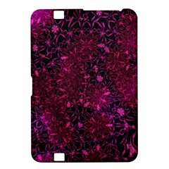 Retro Flower Pattern Design Batik Kindle Fire Hd 8 9  by Simbadda
