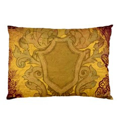 Vintage Scrapbook Old Ancient Retro Pattern Pillow Case (two Sides) by Simbadda