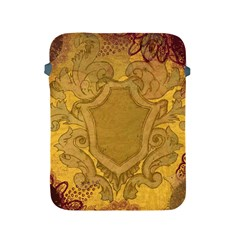 Vintage Scrapbook Old Ancient Retro Pattern Apple Ipad 2/3/4 Protective Soft Cases by Simbadda
