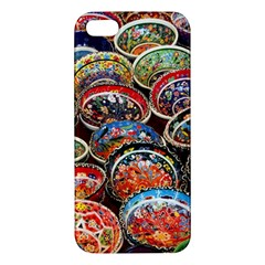 Art Background Bowl Ceramic Color iPhone 5S/ SE Premium Hardshell Case