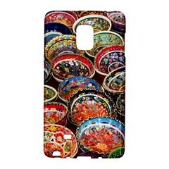 Art Background Bowl Ceramic Color Galaxy Note Edge by Simbadda