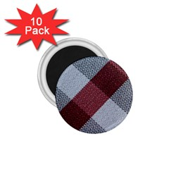 Textile Geometric Retro Pattern 1 75  Magnets (10 Pack)