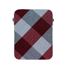 Textile Geometric Retro Pattern Apple Ipad 2/3/4 Protective Soft Cases by Simbadda