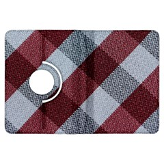 Textile Geometric Retro Pattern Kindle Fire Hdx Flip 360 Case by Simbadda