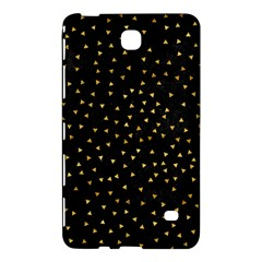 Grunge Retro Pattern Black Triangles Samsung Galaxy Tab 4 (8 ) Hardshell Case  by Simbadda