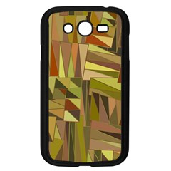 Earth Tones Geometric Shapes Unique Samsung Galaxy Grand DUOS I9082 Case (Black) by Simbadda
