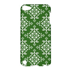 St Patrick S Day Damask Vintage Green Background Pattern Apple Ipod Touch 5 Hardshell Case by Simbadda