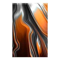 Fractal Structure Mathematics Shower Curtain 48  X 72  (small)  by Simbadda
