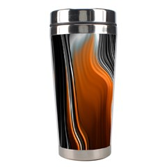 Fractal Structure Mathematics Stainless Steel Travel Tumblers by Simbadda