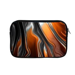 Fractal Structure Mathematics Apple Macbook Pro 13  Zipper Case by Simbadda