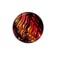Fractal Mathematics Abstract Hat Clip Ball Marker (4 Pack) by Simbadda