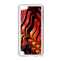 Fractal Mathematics Abstract Apple Ipod Touch 5 Case (white) by Simbadda