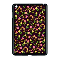 Flowers Roses Floral Flowery Apple Ipad Mini Case (black) by Simbadda